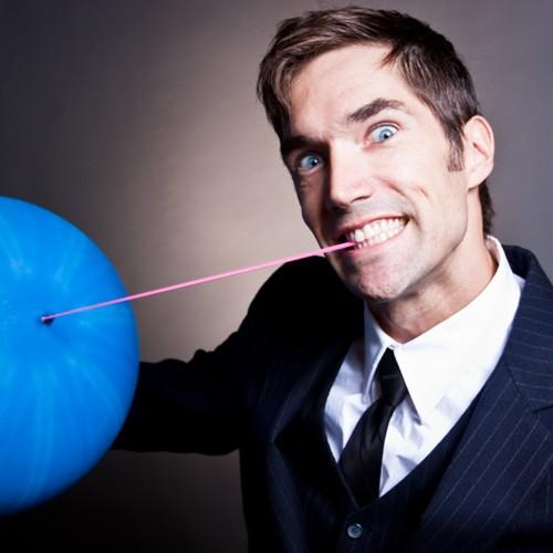 Josh Casey balloon face